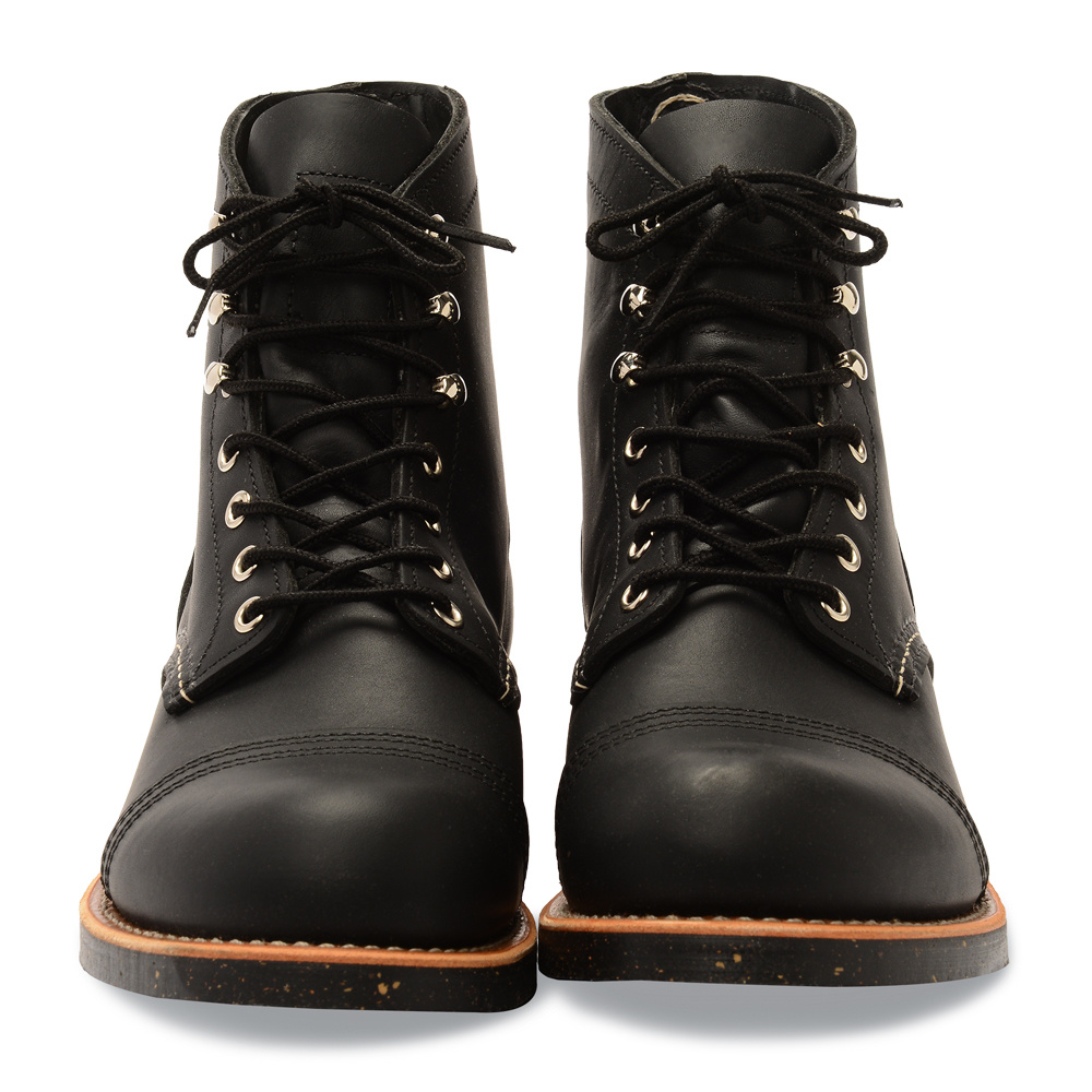 Red Wing Iron Ranger Black Harness Leather 8114