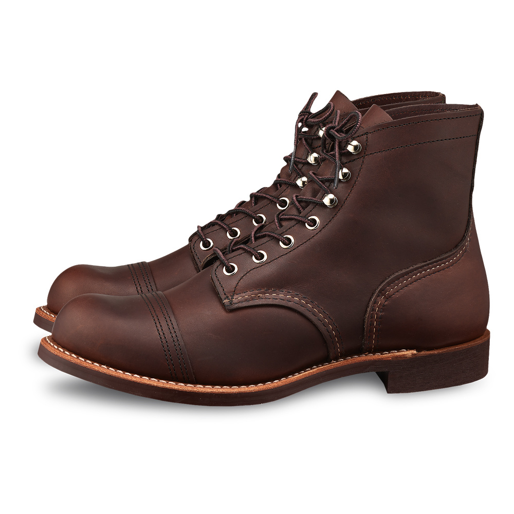 Red Wing Iron Ranger Amber Harness Leather 8111 Kumpfy