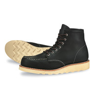 "Red Wing 6"" Moc Black"