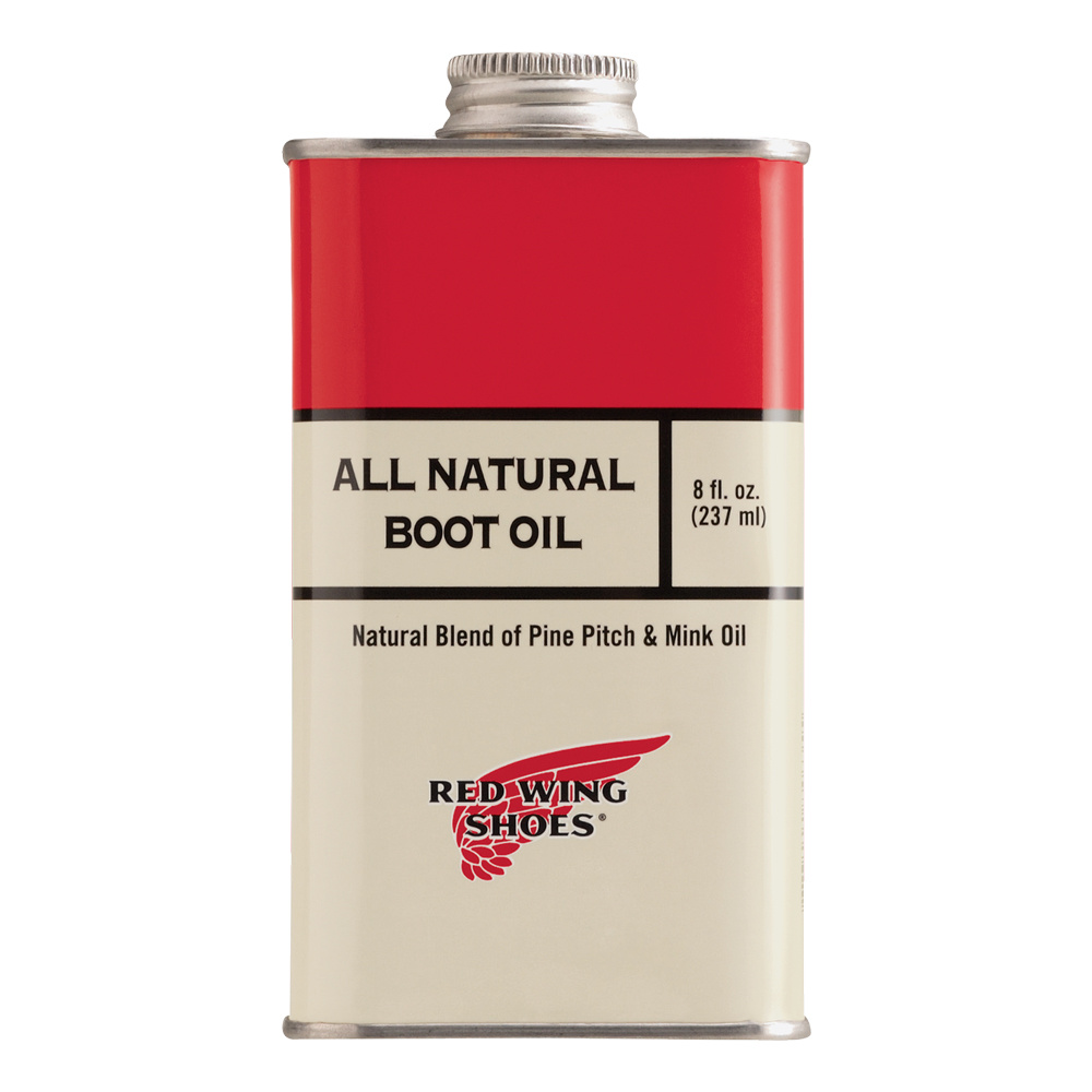 Red Wing All Natural Boot Oil 8oz 97103
