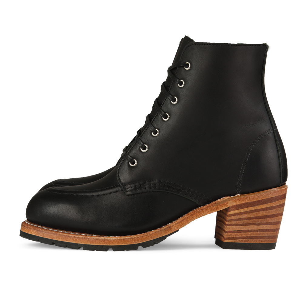 Red Wing Clara Black Boundary Leather 3405