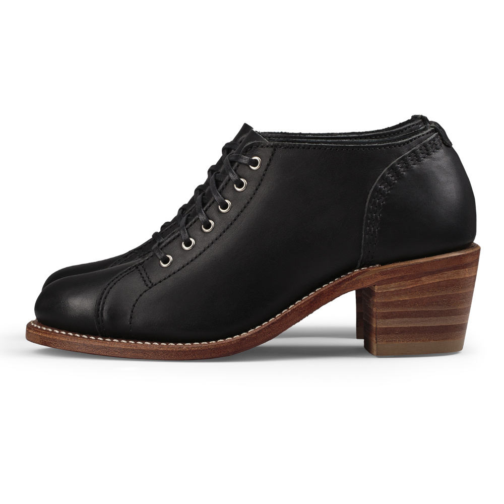 Red Wing Faye Black Boundary Leather 3419