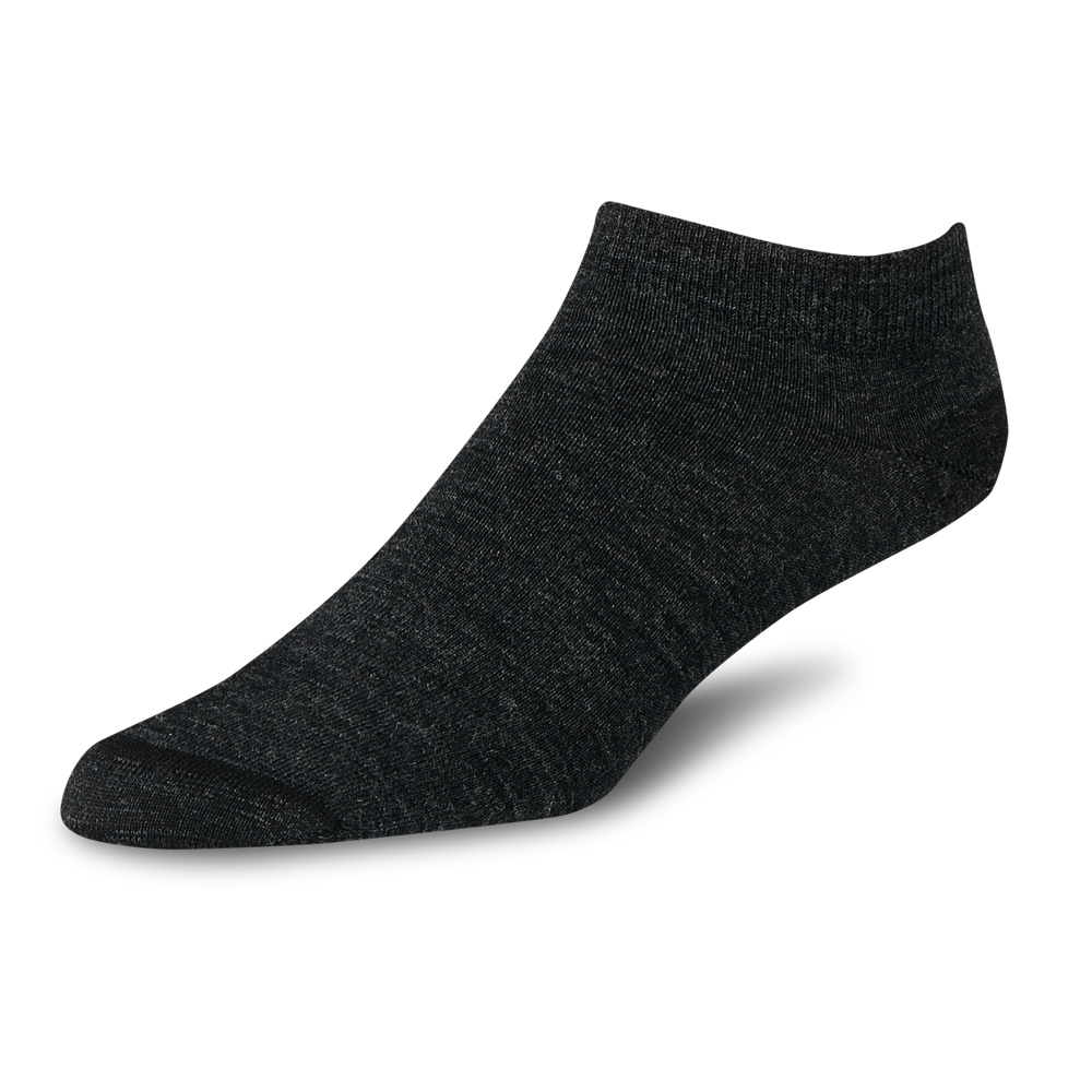 Red Wing Footie Socks Charcoal Unisex 97335