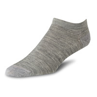 Red Wing Footie Socks Light Grey