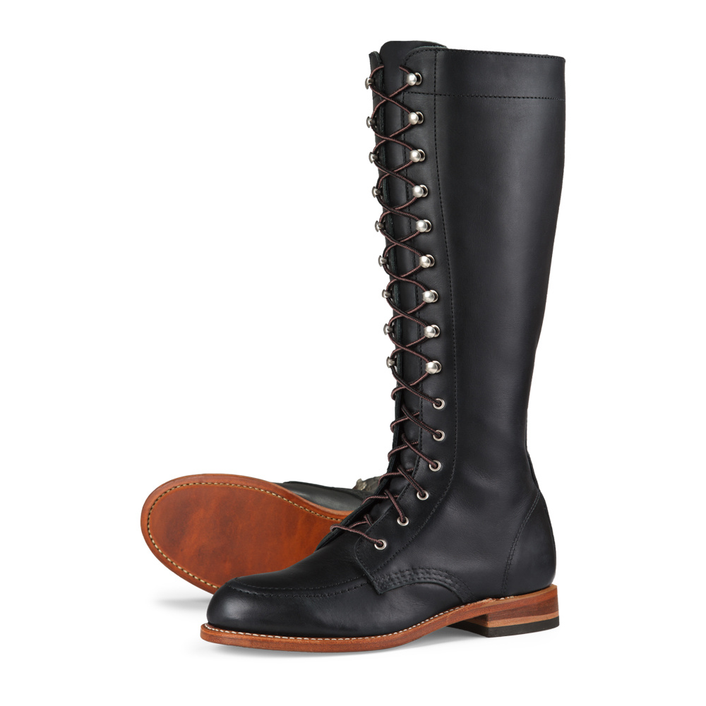 Red Wing Gloria Black Boundary Leather 3385