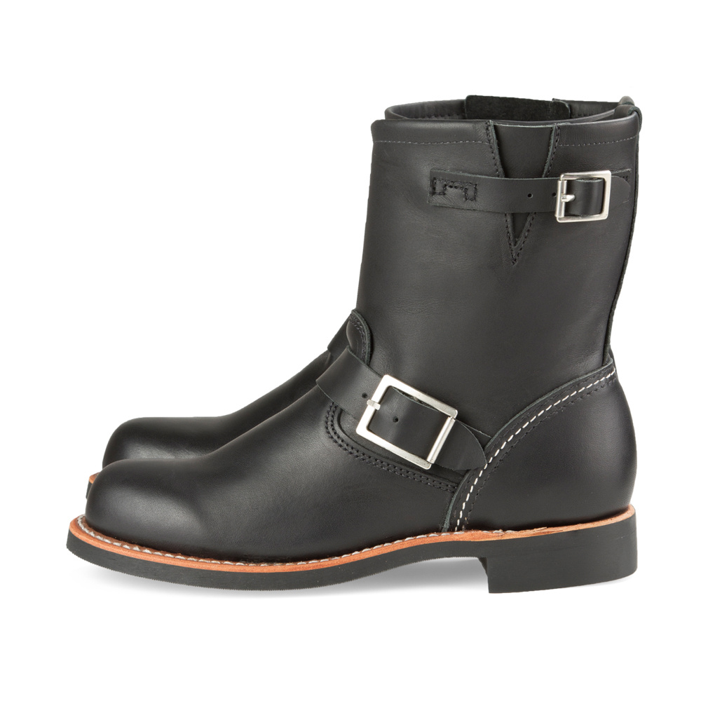 Red Wing Short Engineer Black Boundary 3354