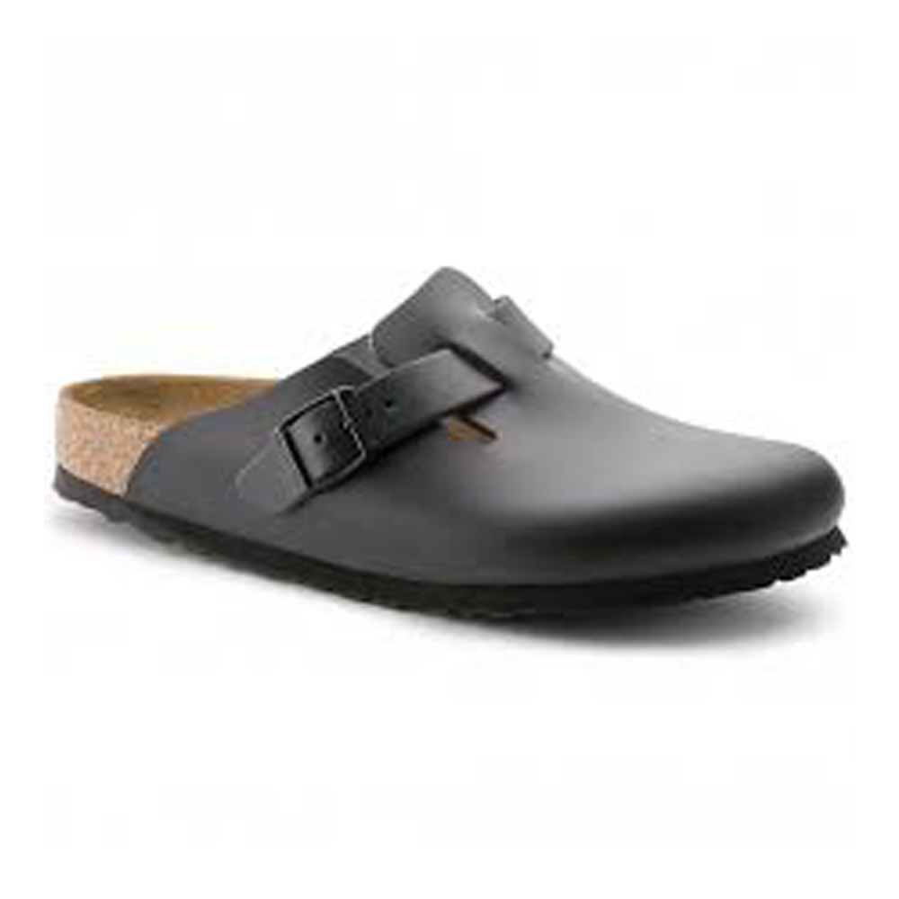 Birkenstock Boston Black Narrow Leather 60193