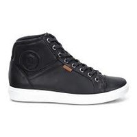 Ecco Soft 7 High Top Black Women