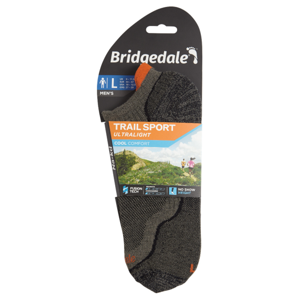 Bridgedale Na-kd Socks Men Gunmetal