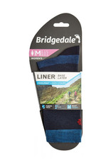 Bridgedale Coolmax Liner Socks Women Blue