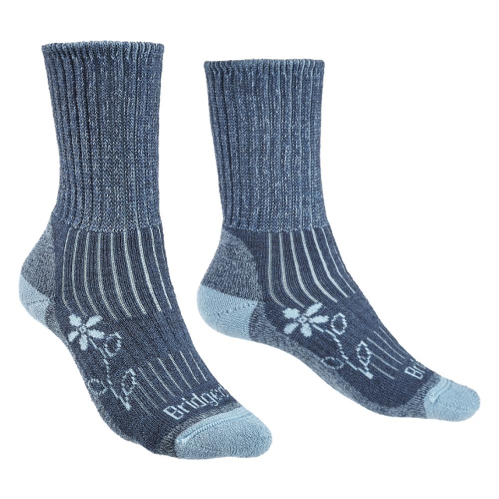 Bridgedale Trekker Socks Women Blue
