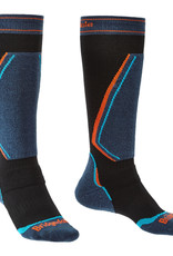 Bridgedale Retro Fit Ski Socks Unisex Black/Blue