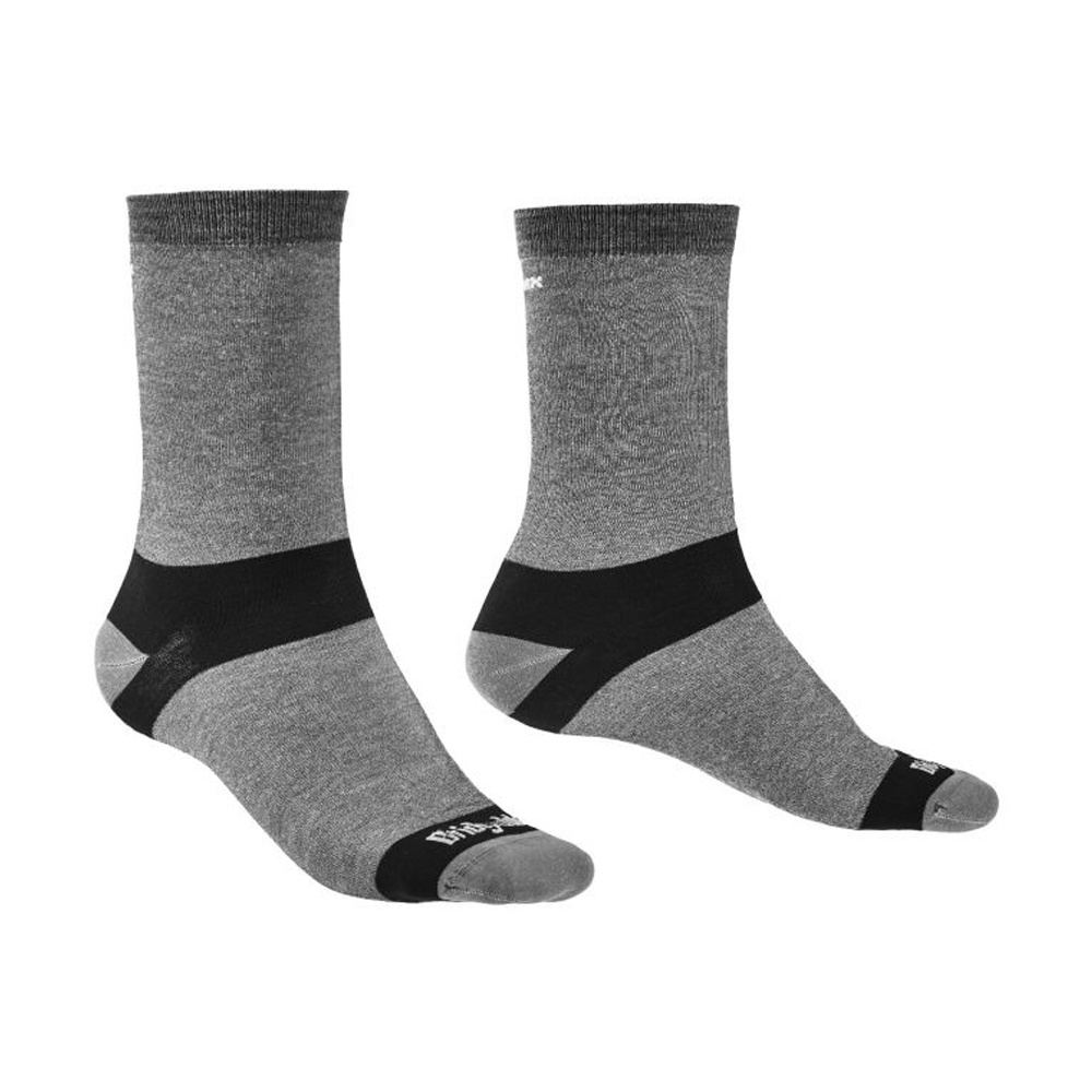 Bridgedale Coolmax Liner Socks Unisex Grey