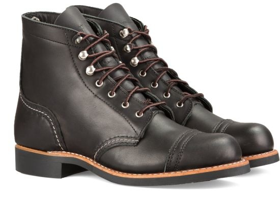 Red Wing Iron Ranger Black 3366