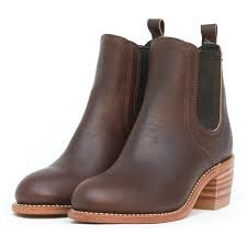 Red Wing Harriet Mahogany Oro-ginal Leather 3392