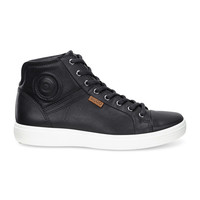 Ecco Soft 7 High Top Black Men