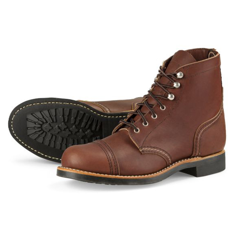 Red Wing Iron Ranger Amber Harness Leather 3365