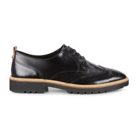 Ecco Incise Tailored Black Eternity