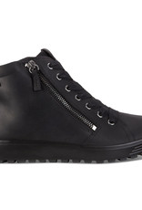 Ecco Soft 7 Tred Black Oil Nubuck 450163 02001