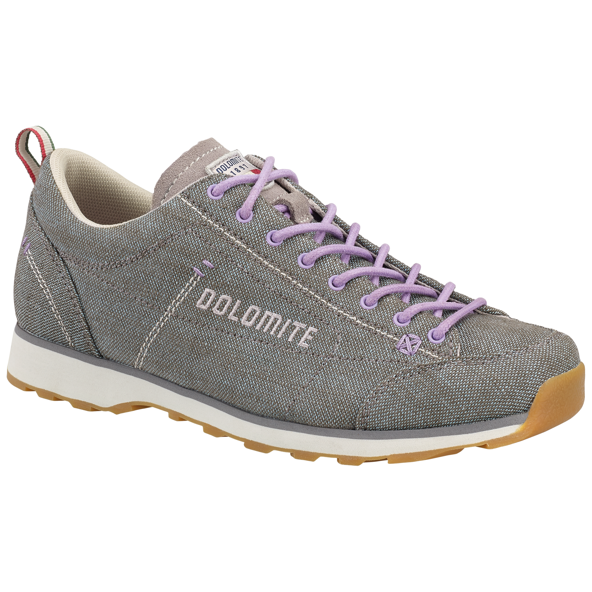 Dolomite 54 LH W's Canvas Grey/Lilac Violet 250608 0828