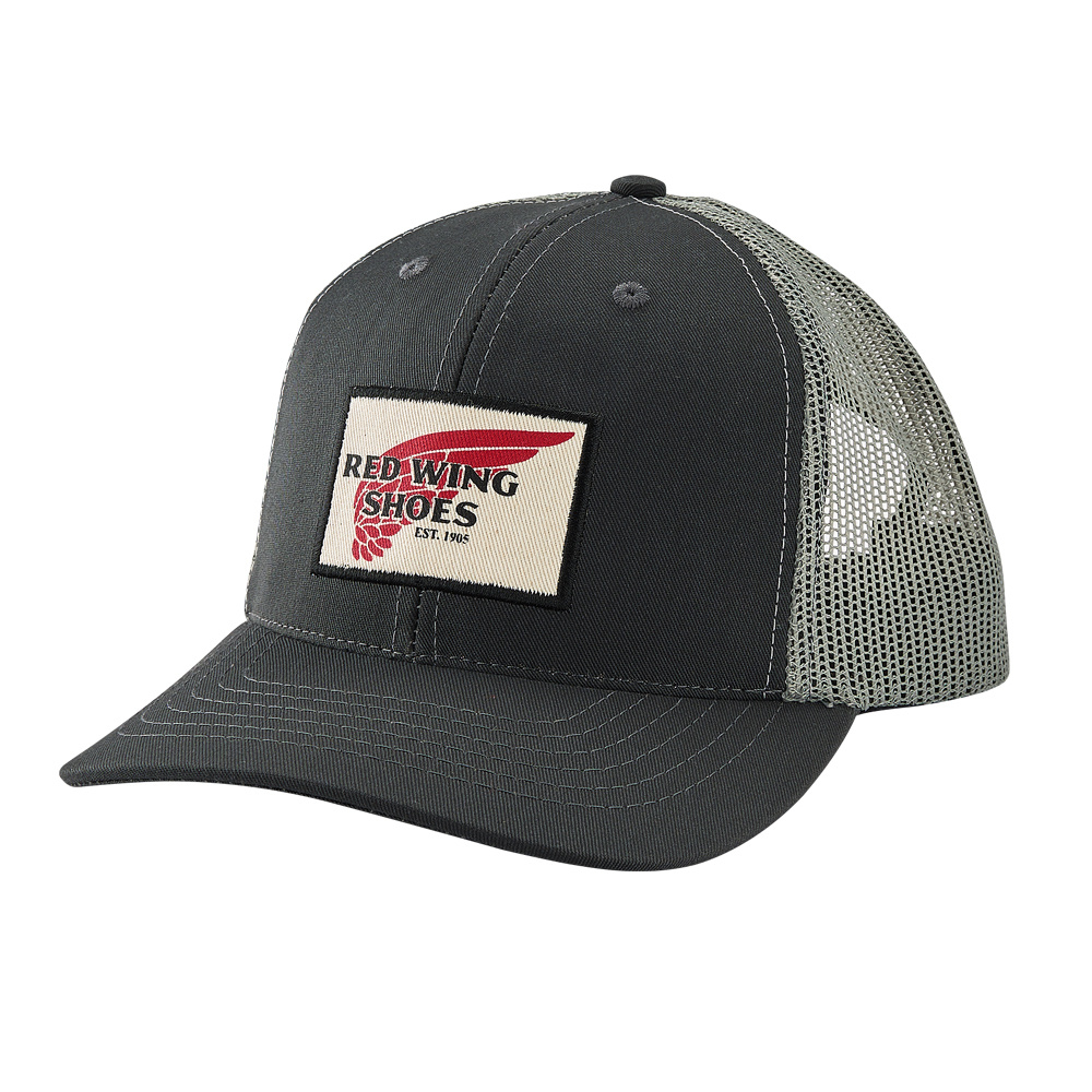 Red Wing Trucker Hat Charcoal 97465