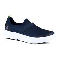 Oofos OOmg Fibre Shoe White/Navy