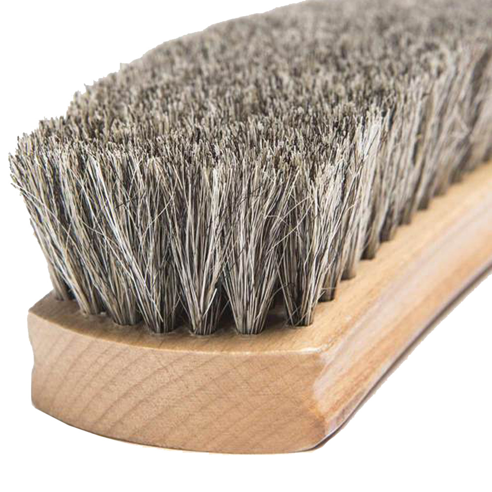 Otter Wax Horsehair Shoe Brush