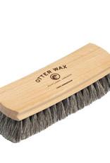 Otter Wax Horsehair Shoe Brush