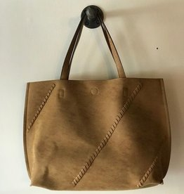Stitched Detail Tote