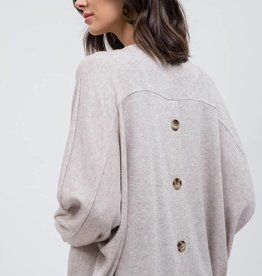 Button Back Cardigan