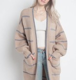 Thin Stripe Cardigan