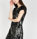 Cutout Back Sequin Dress