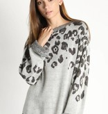 Ombre Leopard Sweater