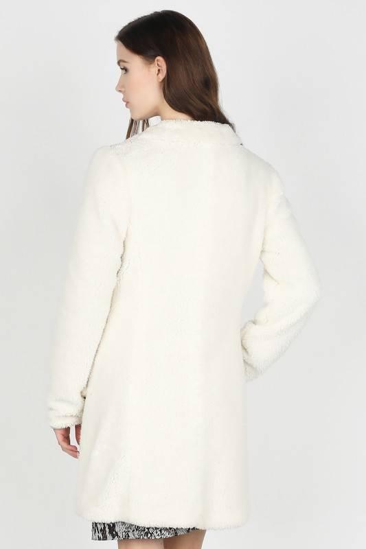 Shearling Midi Jacket