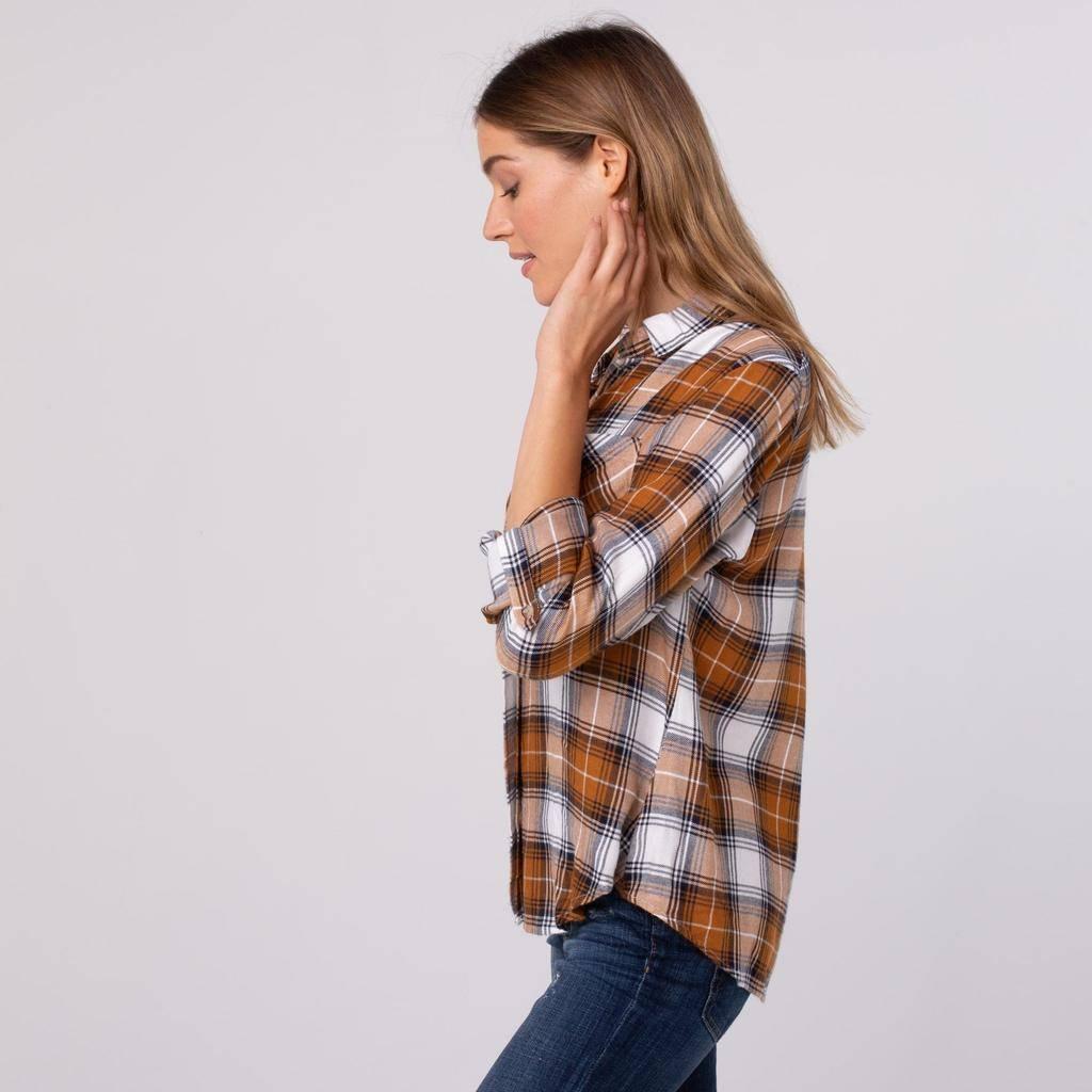 Bibi Plaid Shirt