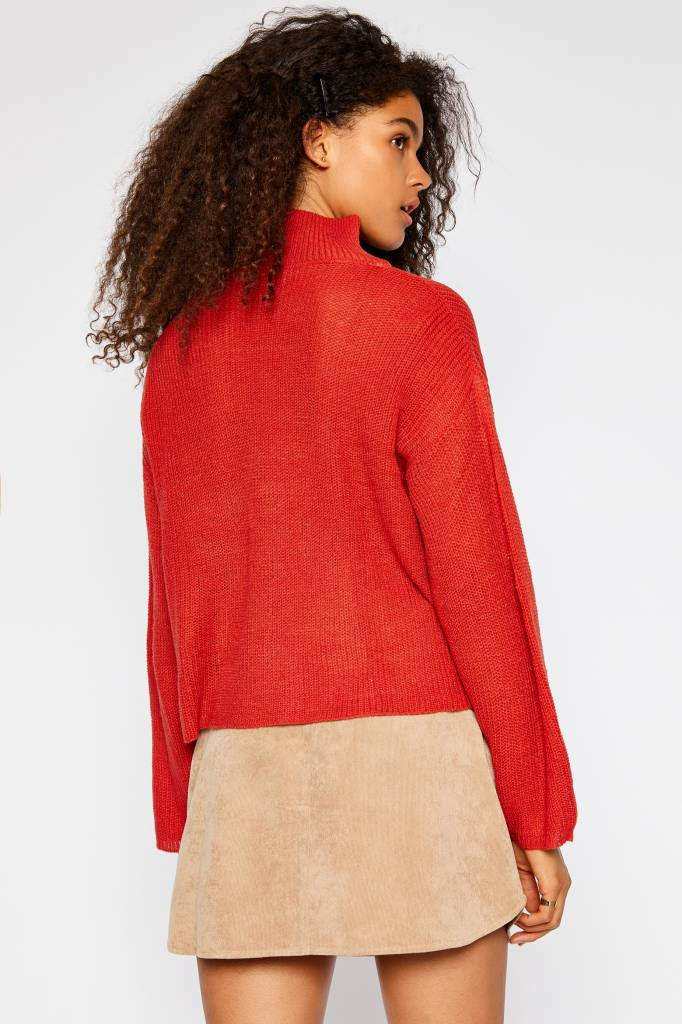 Turtleneck Lightweight Sweater