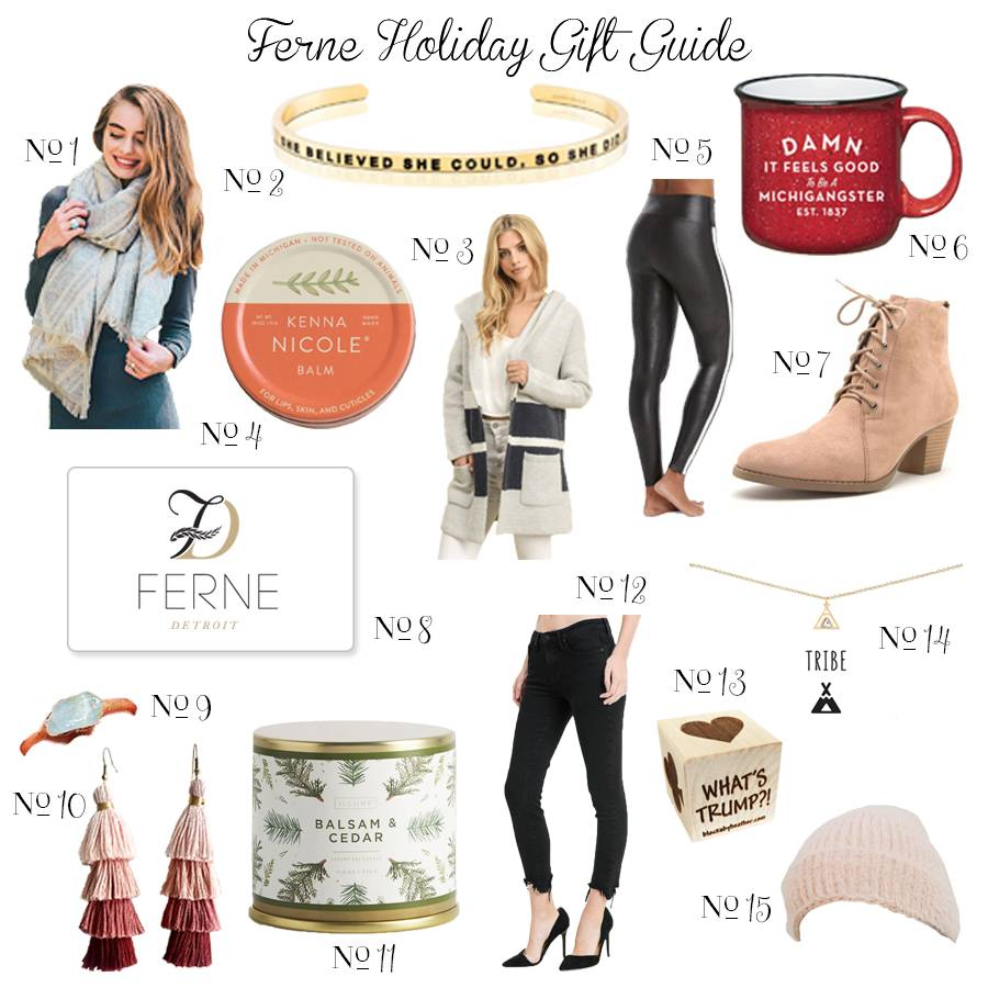 Ferne Holiday Gift Guide 2018