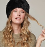 Faux Fur Pill Box Hat
