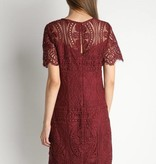 Short Sleeve Lace Dress