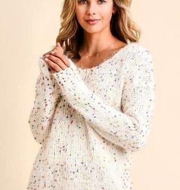 Funfetti Chenille Sweater