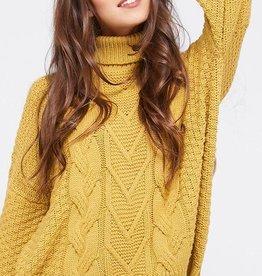 Scallop Hem Sweater