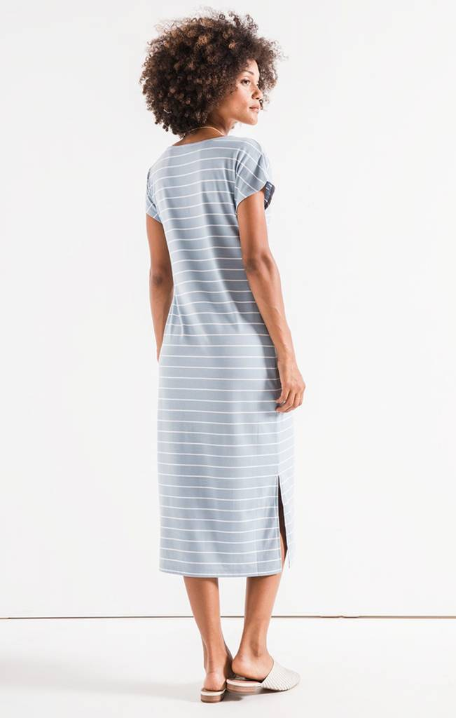 Stripe Midi Drop Dress