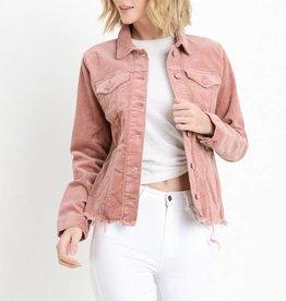 Raw Cut Corduroy Jacket