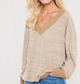 Wide Neck Pullover