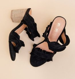 Rachel Ruffle Heels
