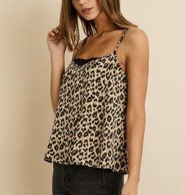 Satin Leopard Camisole