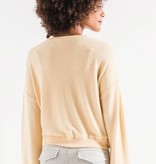 Notch Front Sweater