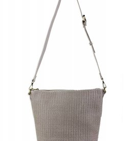 Straw Detail Bucket Bag