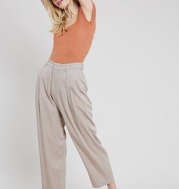 Pleated Front Trouser