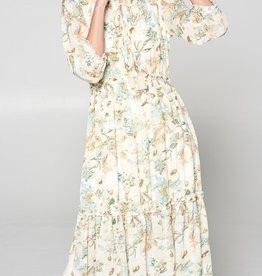 Veronica Floral Midi Dress